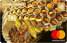 Дебетовая карта MasterCard Gold